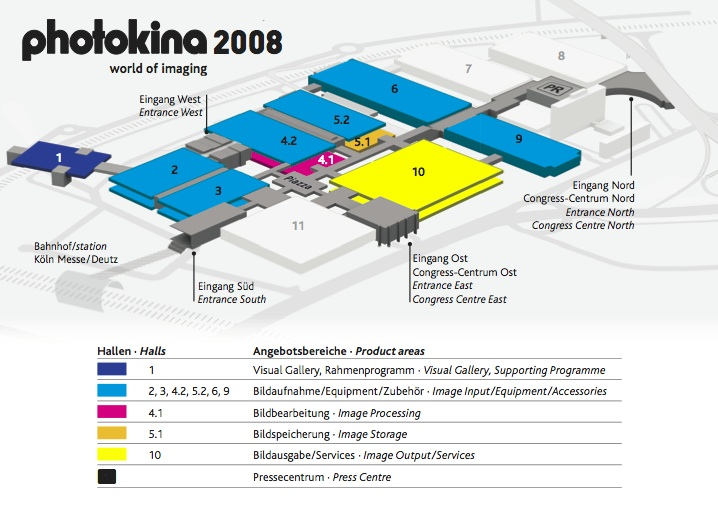 Photokina Floorplan