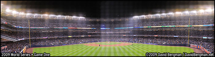 Bergman 2009 World Series Gigapan
