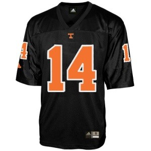 Black Tennessee Football Jersey
