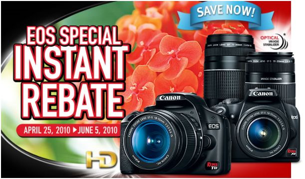 Canon Rebel Rebates