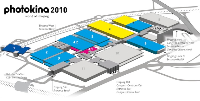 Photokina Map