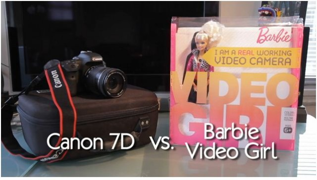 Canon 7D Barbie Video Girl