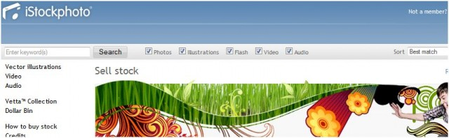 iStock Screen Capture