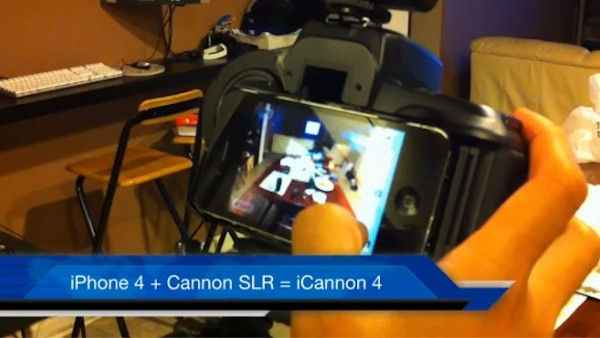 iPhone Canon SLR