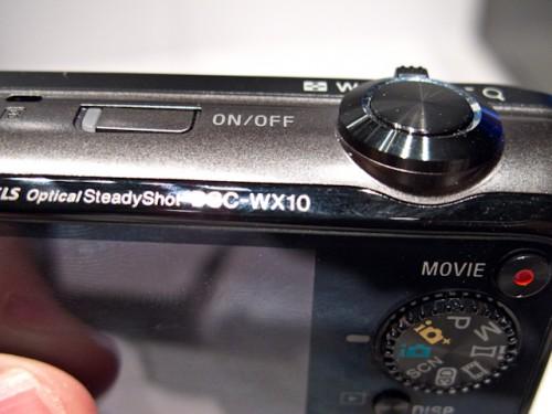 Sony Cyber-shot WX10-1