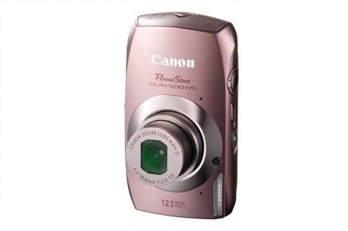 Canon ELPH 500 Pink
