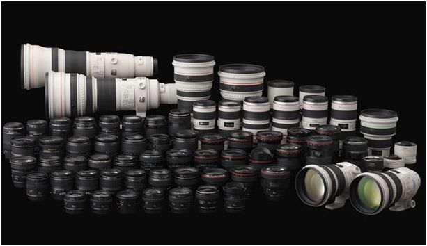 Canon Lens Lineup