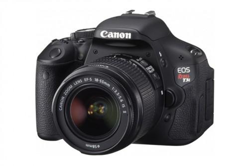 Canon Rebel T3i Angle