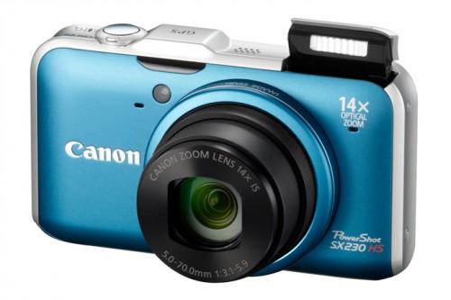 Canon SX230 Blue