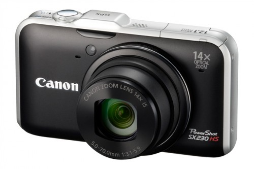 Canon SX230 Front