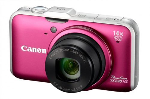 Canon SX230 Pink
