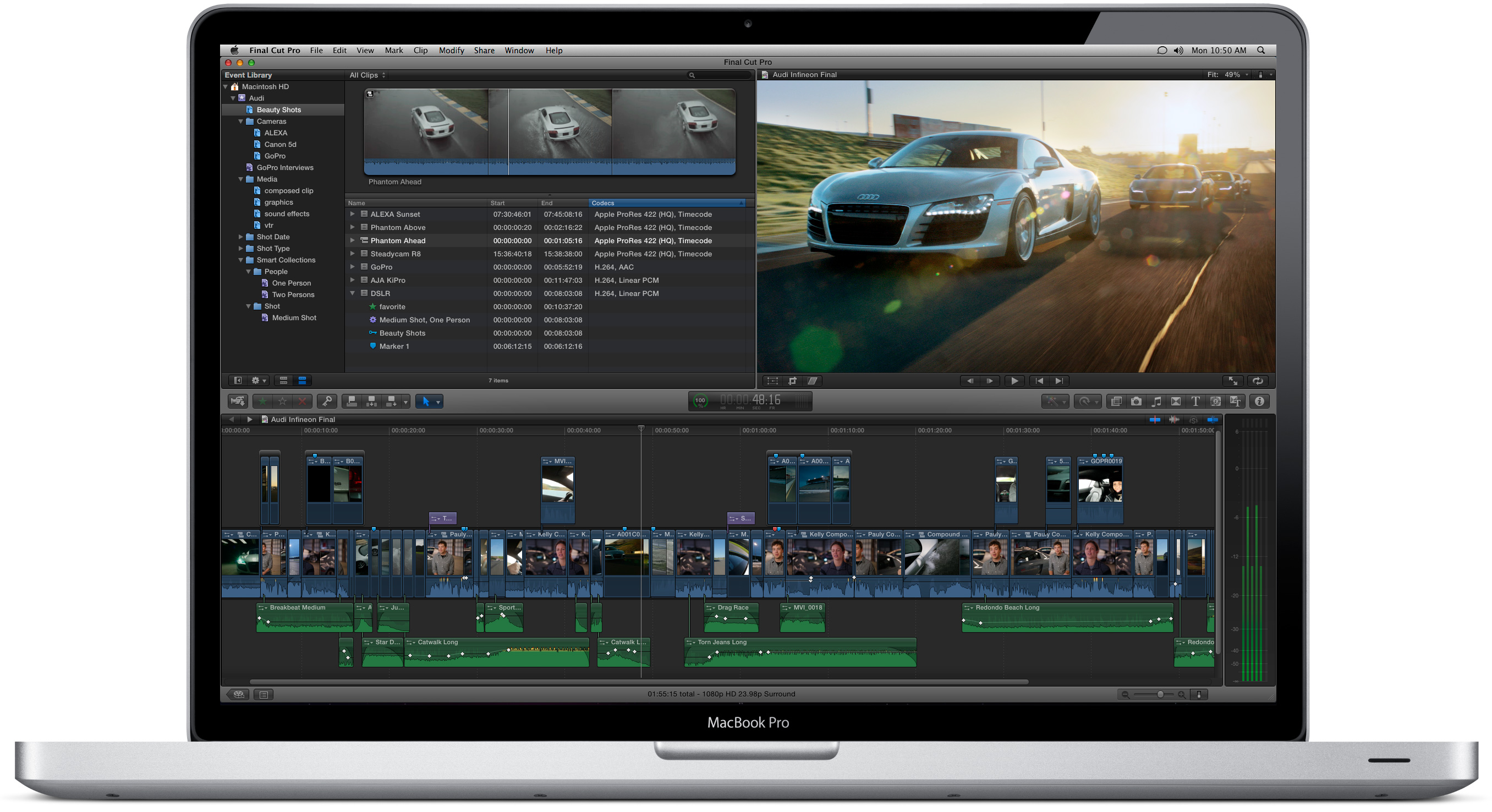 how to make a video on final cut pro