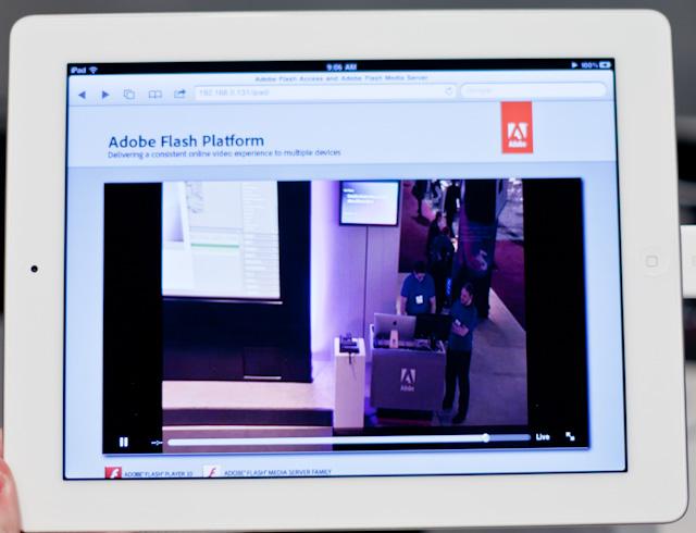 Adobe flash player for ipad 2 2011