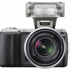 Sony NEX-C3 Front