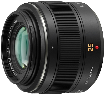 Leica 25mm Panasonic Lens
