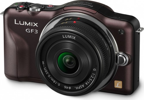 Panasonic GF3 Brown