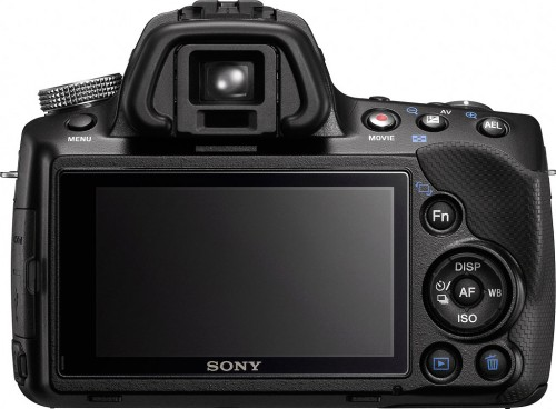 Sony A35 Back