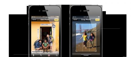 iOS Camera Editing
