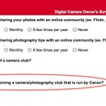 Canon Membership Site Survey