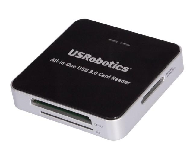 USRobotics USB 3.0 Card Reader
