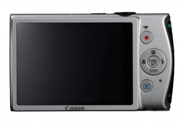 Canon PowerShot ELPH 310 HS Back