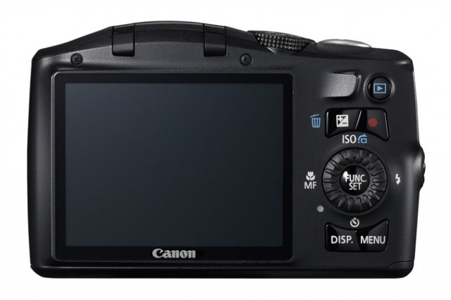 Canon PowerShot XS150 IS Back