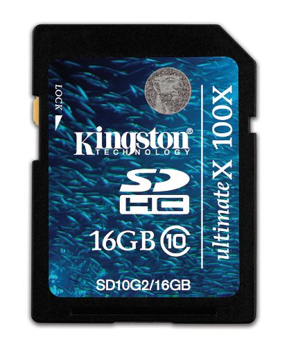 Kingston Class 10 SDHC Memory Card