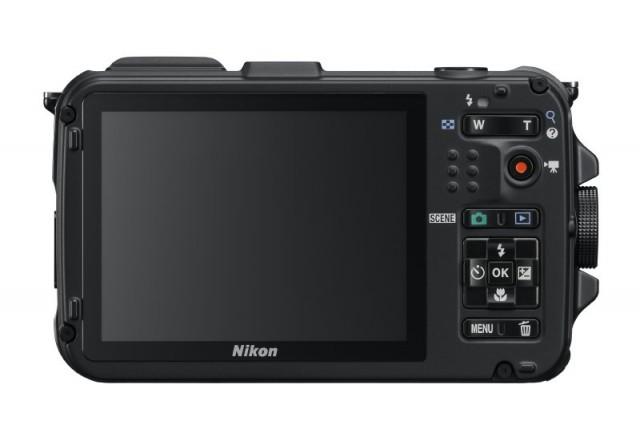 Nikon AW100 Back