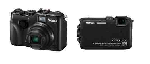 Nikon Coolpix P7100 and AW100