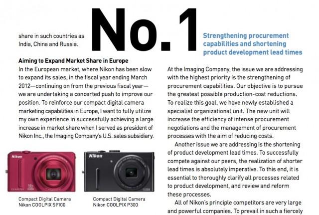 Nikon Annual Report 2011