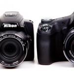 Nikon P500 v Sony HX100V-1