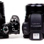 Nikon P500 v Sony HX100V-2
