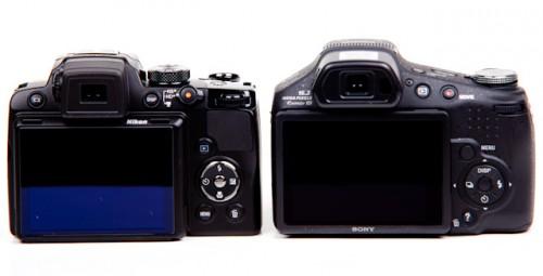 Nikon P500 v Sony HX100V-3