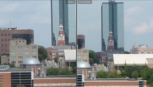 Canon SX230 HS (left) vs Panasonic ZS-10 (right) - Click for 100% view compa