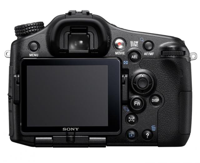 Sony A77 Back