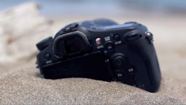Sony A77 Sand