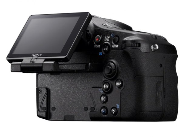 Sony A77 and LCD