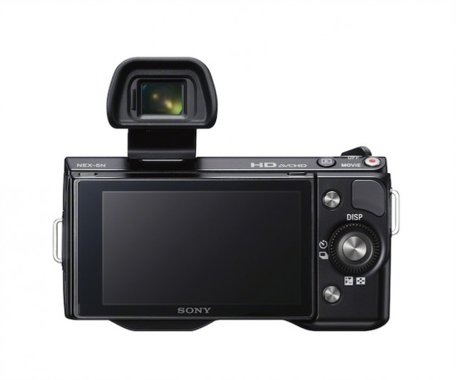 Sony NEX-5N Back FDA-EV1S