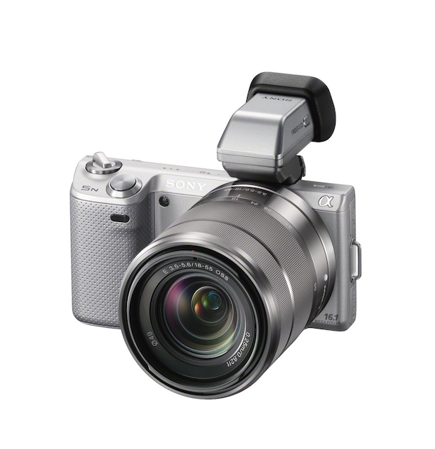 Sony NEX-5N and FDA-EV1S