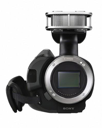 Sony NEX-VG20 Front