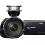 Sony NEX-VG20 Front LCD
