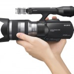 Sony NEX-VG20 Handheld