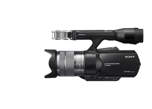 Sony NEX-VG20 Side