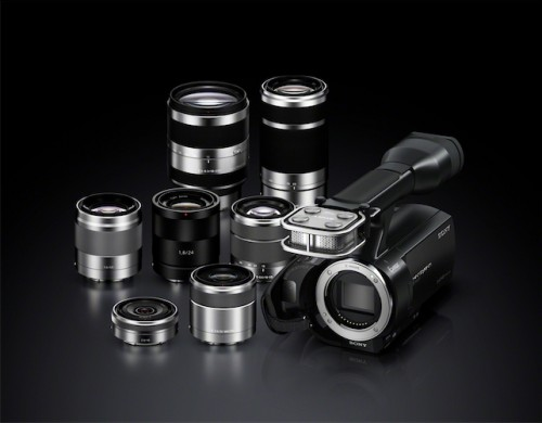 Sony NEX-VG20 and Lenses