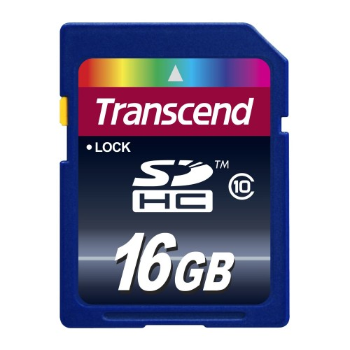 Transcend 16GB SDHC Card