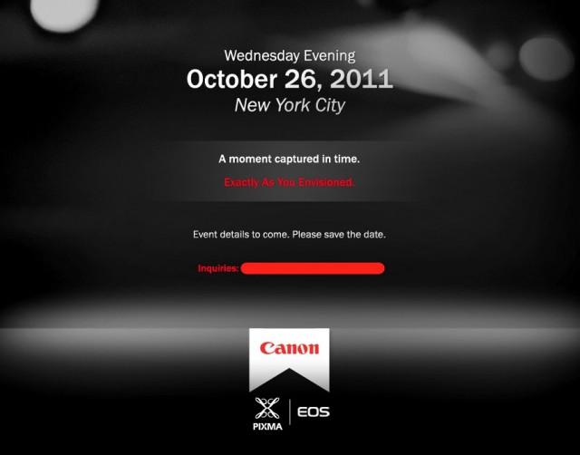Canon EOS PIXMA Event