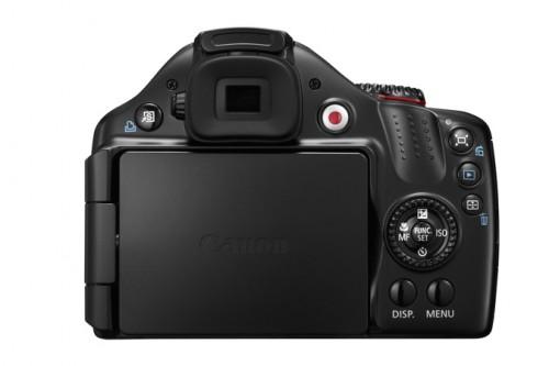 Canon SX40 HS Back