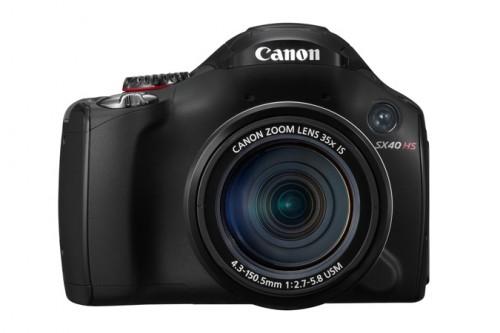 Canon SX40 HS Front