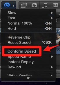 FCP X Conform Speed