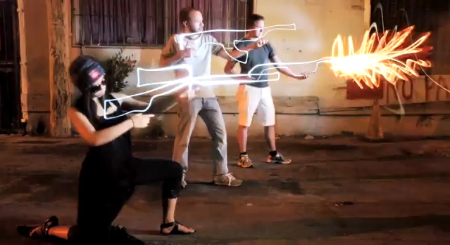 Light Painting - Freddie Wong